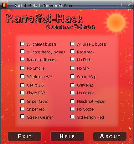 Kartoffel Hack Summer Edition